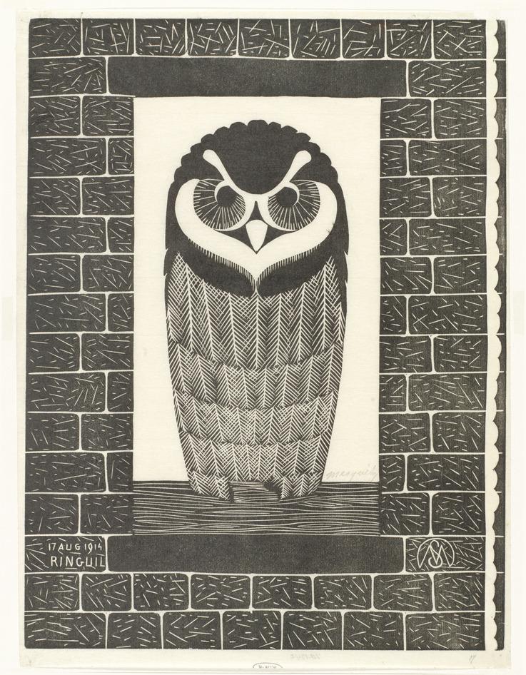 Owl. 1914.