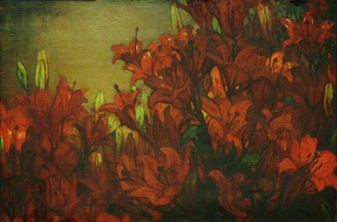 """Rode Lelies"" (Red Lilies). Undated."