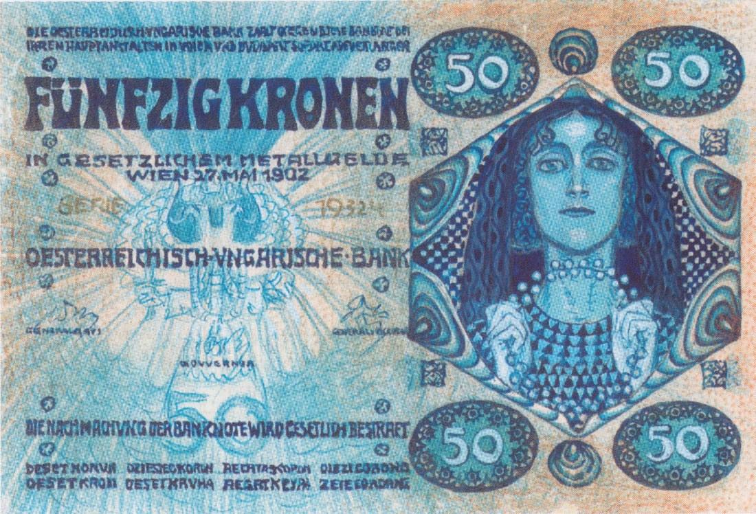 50 kronen banknote. 1902.