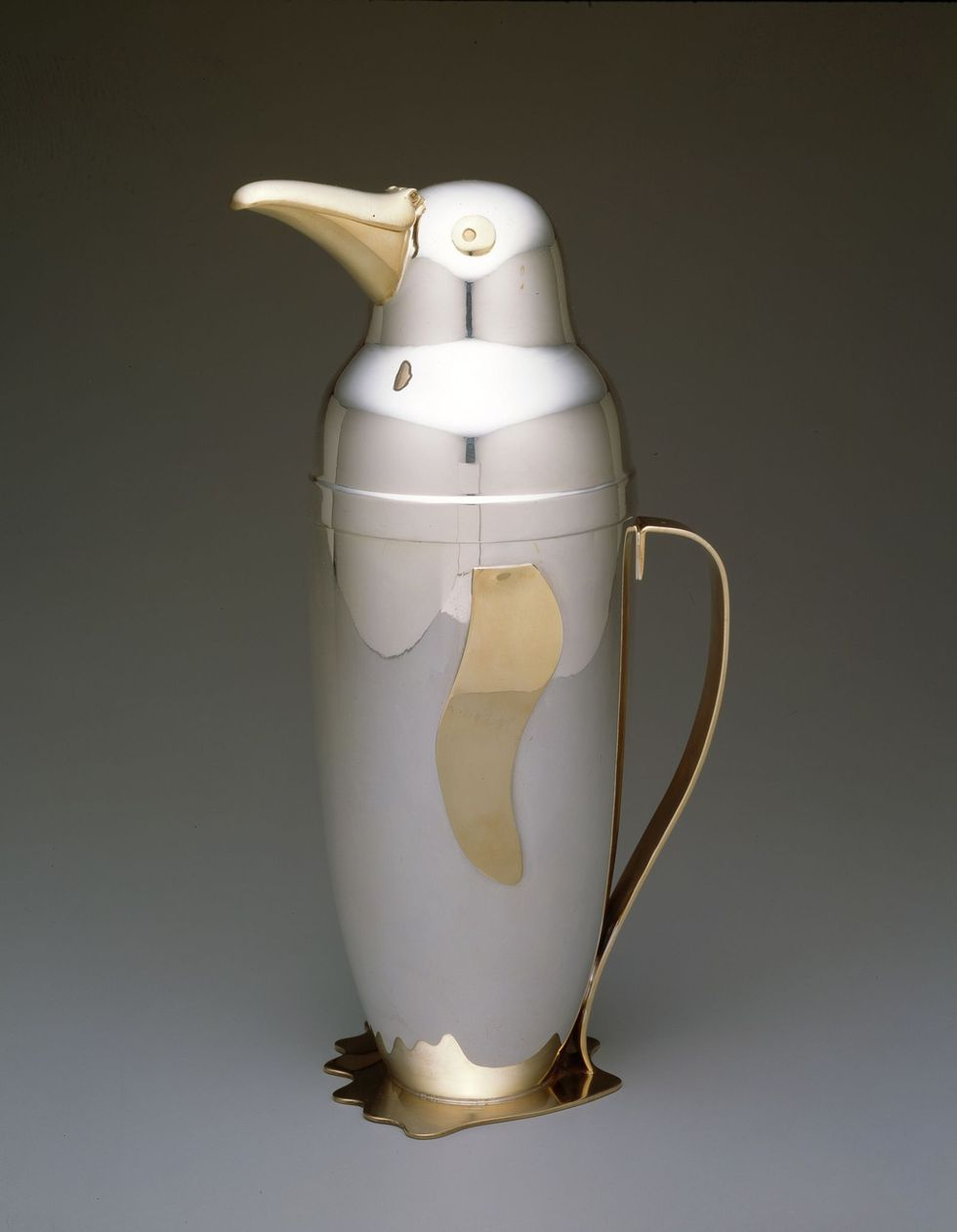 Penguin cocktail shaker. 1936.
