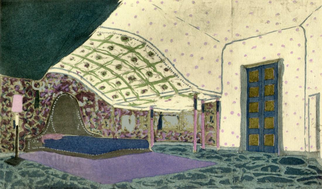 Bedroom interior.