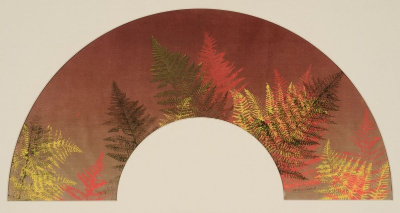 """Ferns."" ca. 1890."