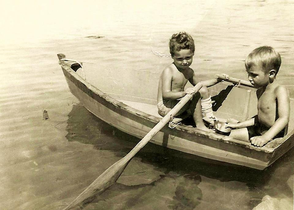 Late 1940's photograph. via Facebook.