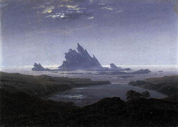 """""""Rocky Reef on the Sea Shore."""" 1824."""