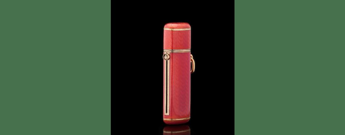 Lipstick holder. 1908-1917.