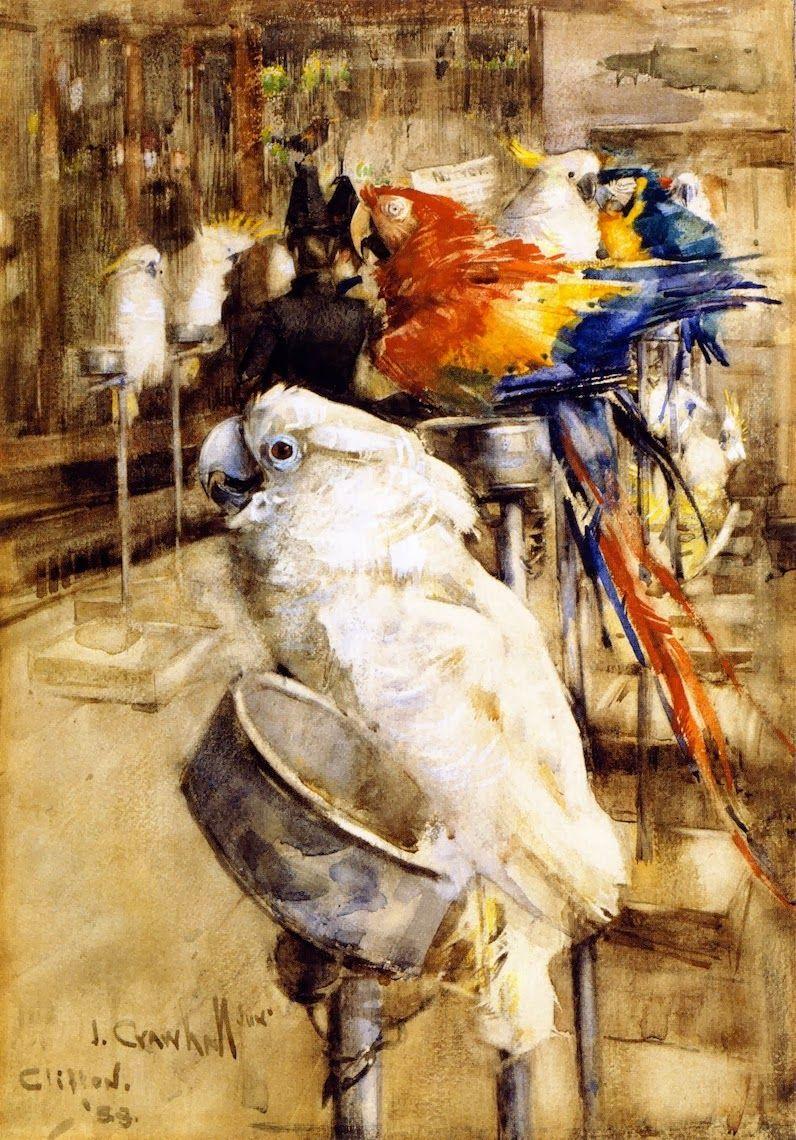 """""""The Aviary, Clifton."""" 1888."""
