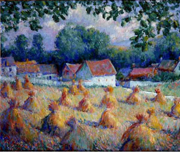 """""""Haystacks."""" ca. 1900."""
