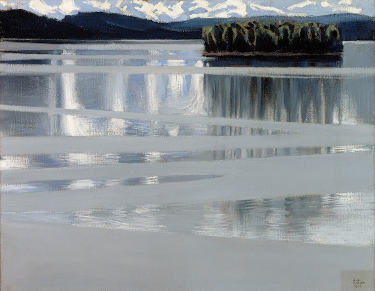 """Lake Keitele."" 1905."
