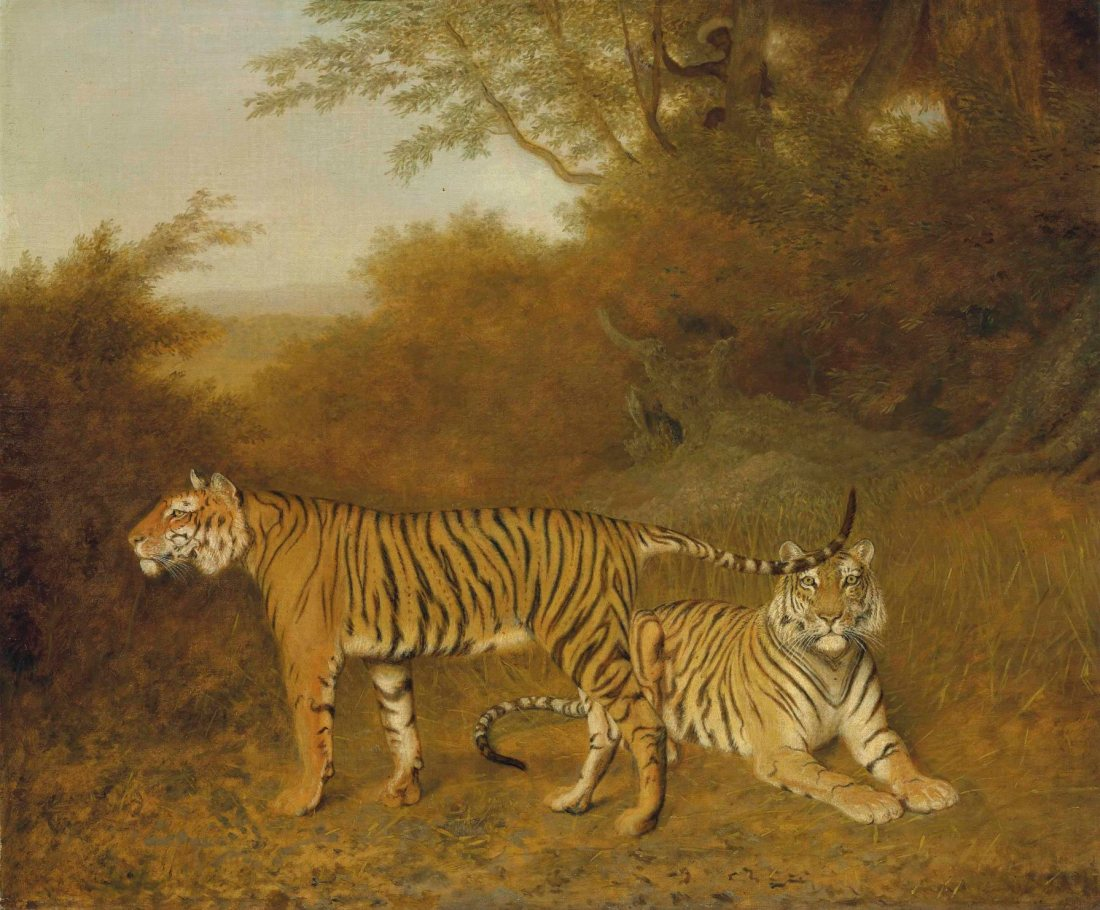 2016_cks_13100_0032_000jacques-laurent_agasse_two_bengal_tigers_in_an_savannah_landscape_with