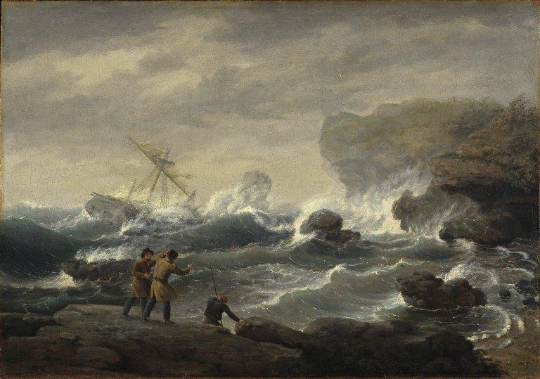 """""""Shipwreck."""" ca. 1829."""