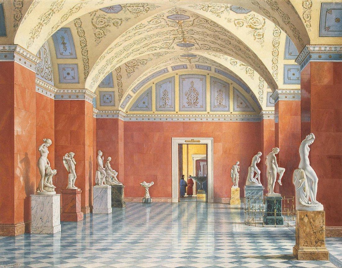 """Room of Russian Sculpture."""