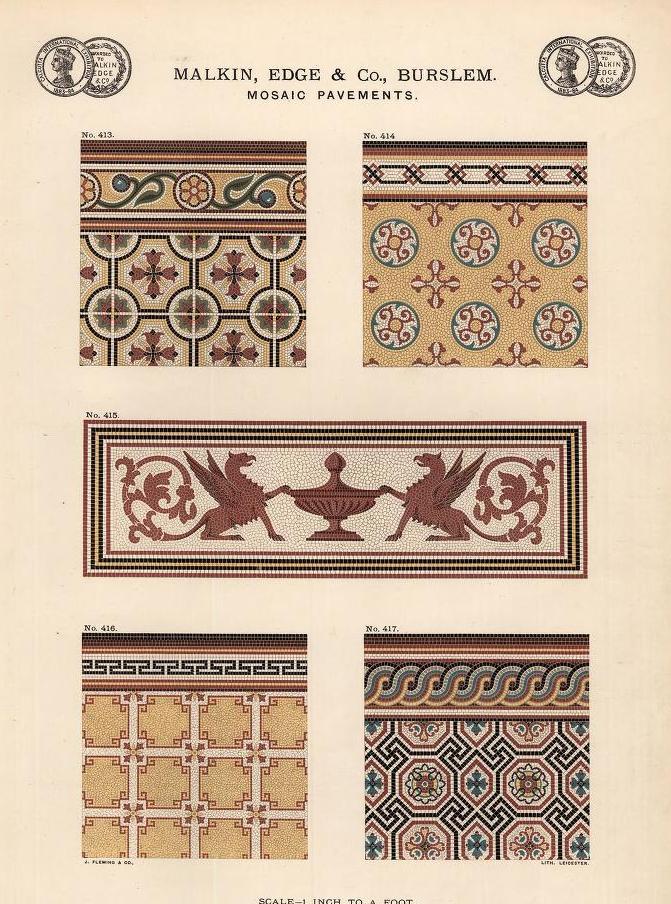 """""""Mosaic Pavements."""" Page 31."""