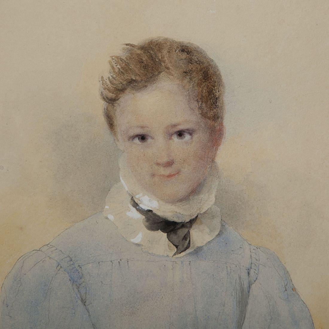 Portrait of a young boy. 1835.