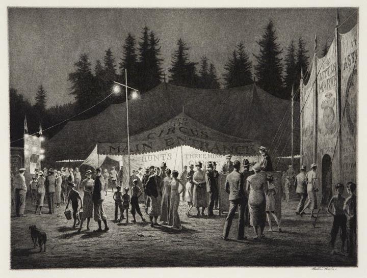 """Circus Night."" 1933."