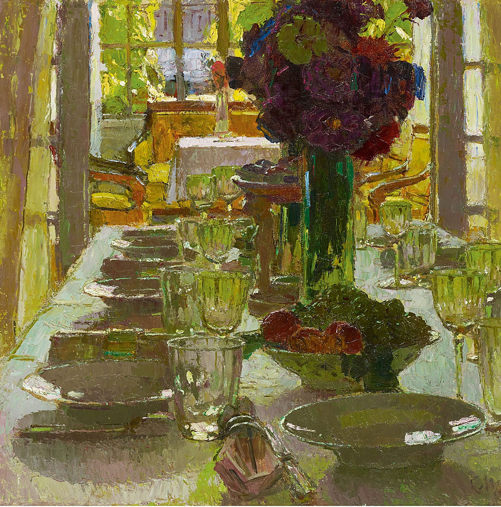 """""""Speisezimmer I"""" (Dining Room I). Before 1939."""