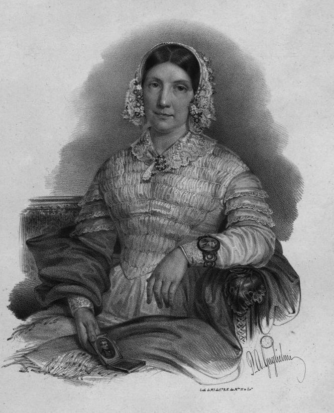 D. Eugénia Francisca Xavier Teles da Gama, duquesa de Palmela. Before 1848.