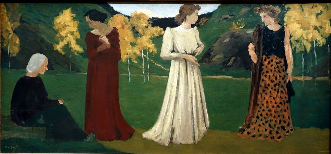 """The Seasons of Life."" 1892-95."