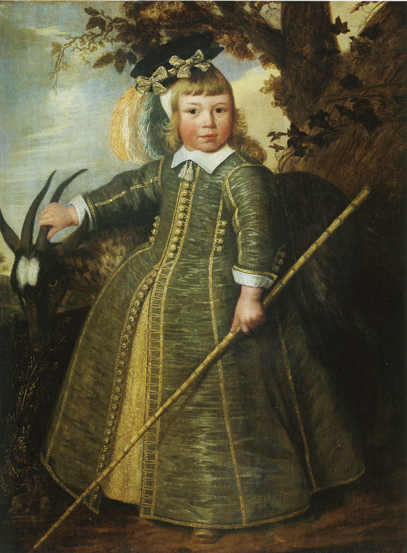 """""""Four-Year-Old Boy with Goat."""" 1652."""
