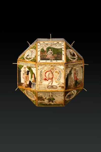Sundial from the estate of Duke Frederick I of Württemberg. 1596.