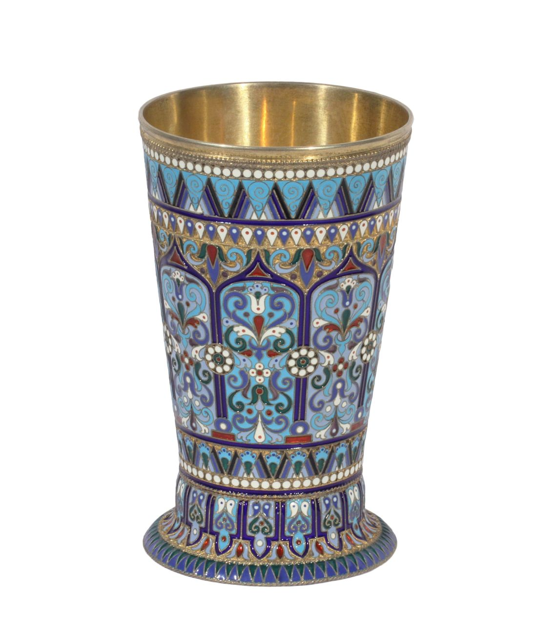 Beaker. 1895. Made in Moscow.