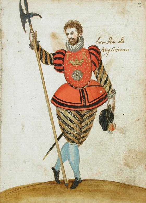 """""""L'archer de Angleterre."""" Image #10."""