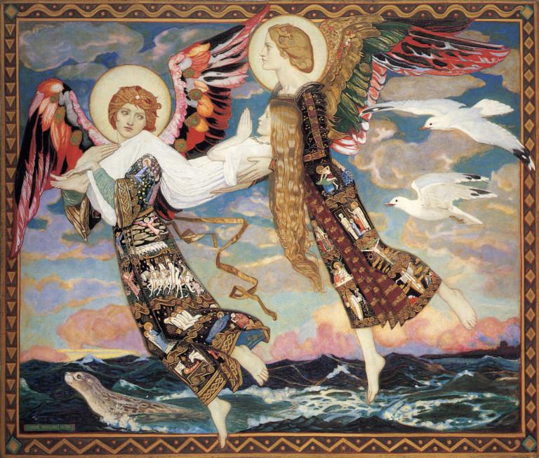 """""""Saint Bride."""" 1913."""