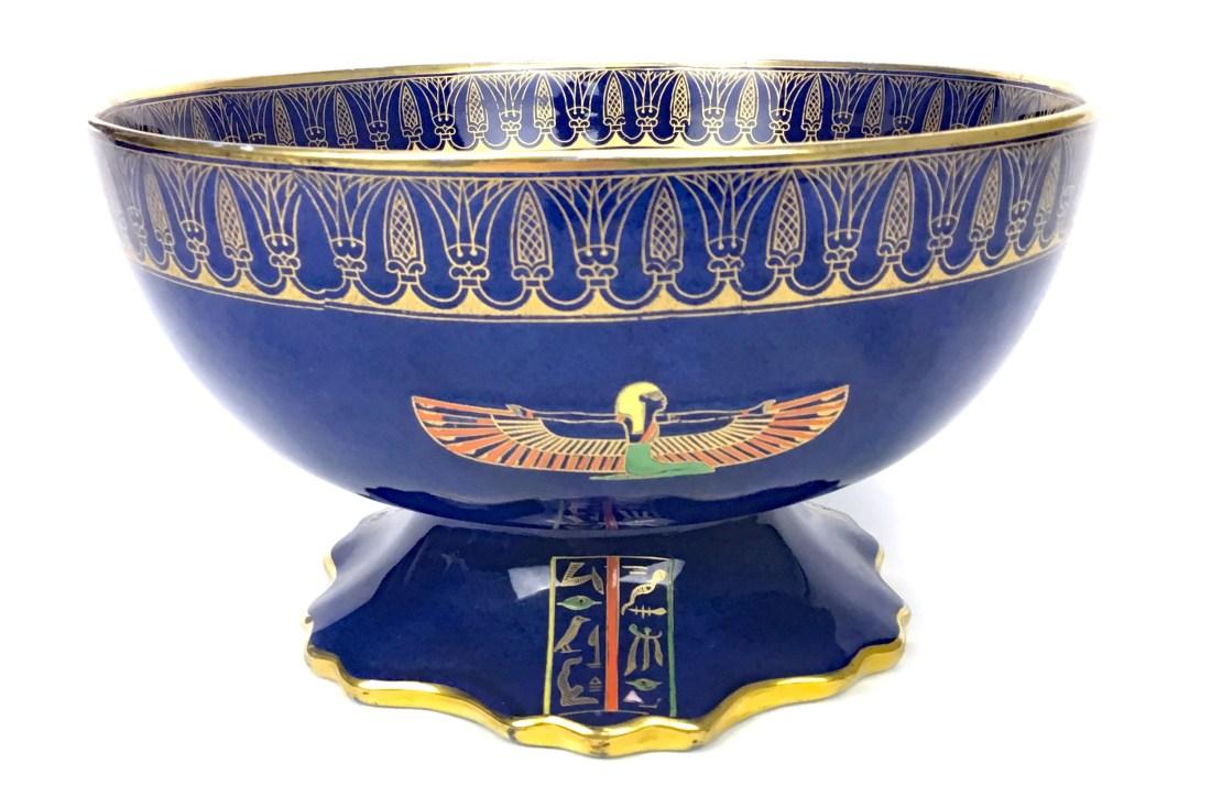 Egyptian pattern bowl. ca. 1920's.