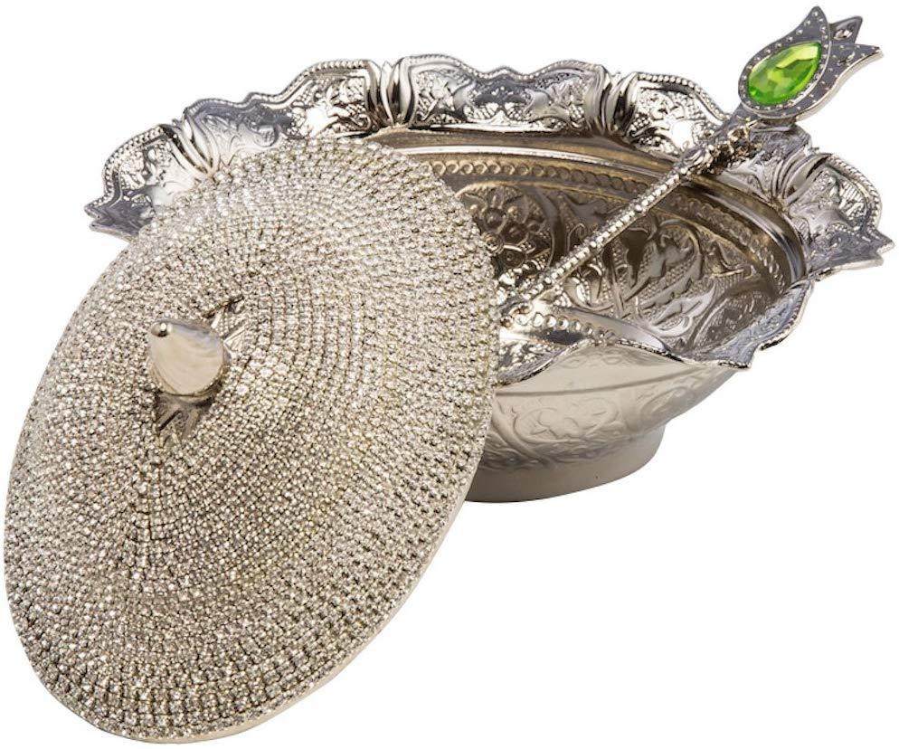 Turkish delight bowl. Contemporary.