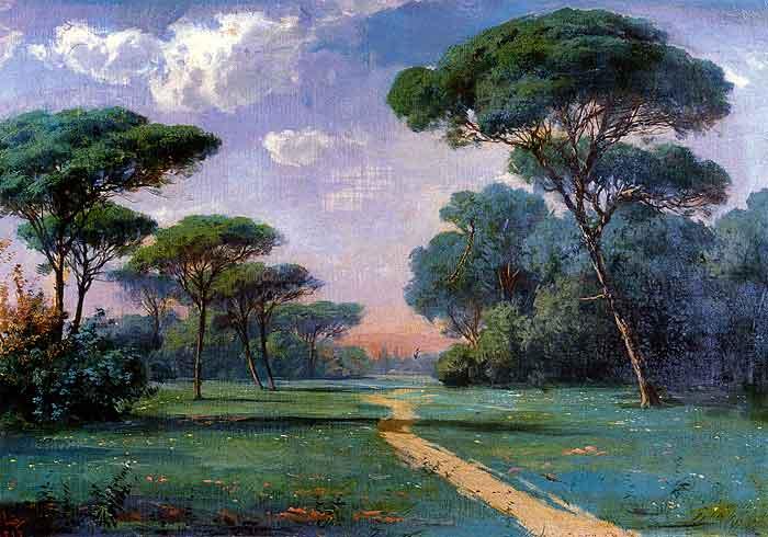 Landscape. 1898.