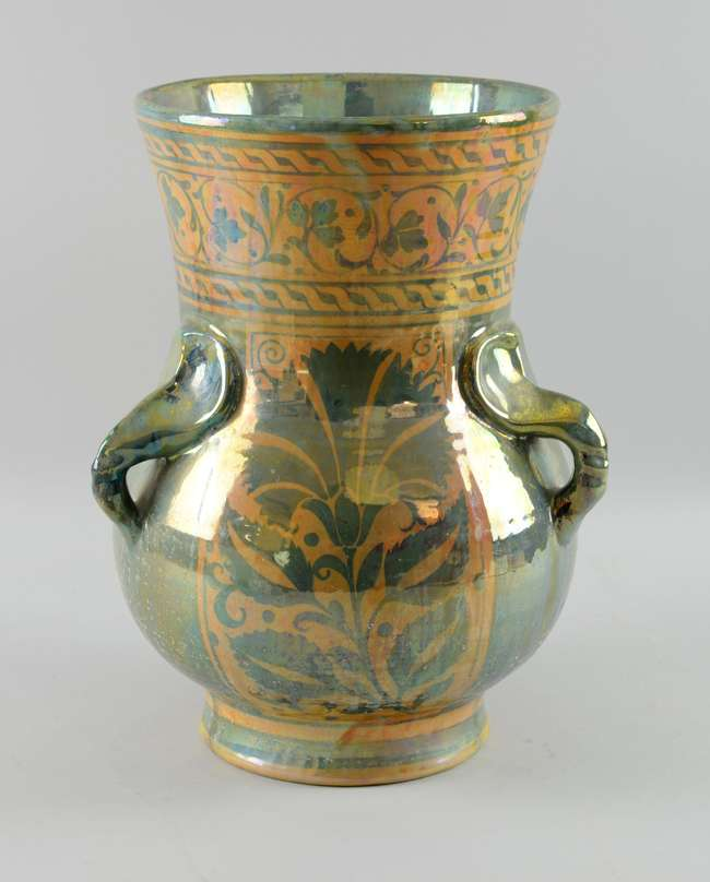 Lustre vase. ca. early 20th c.