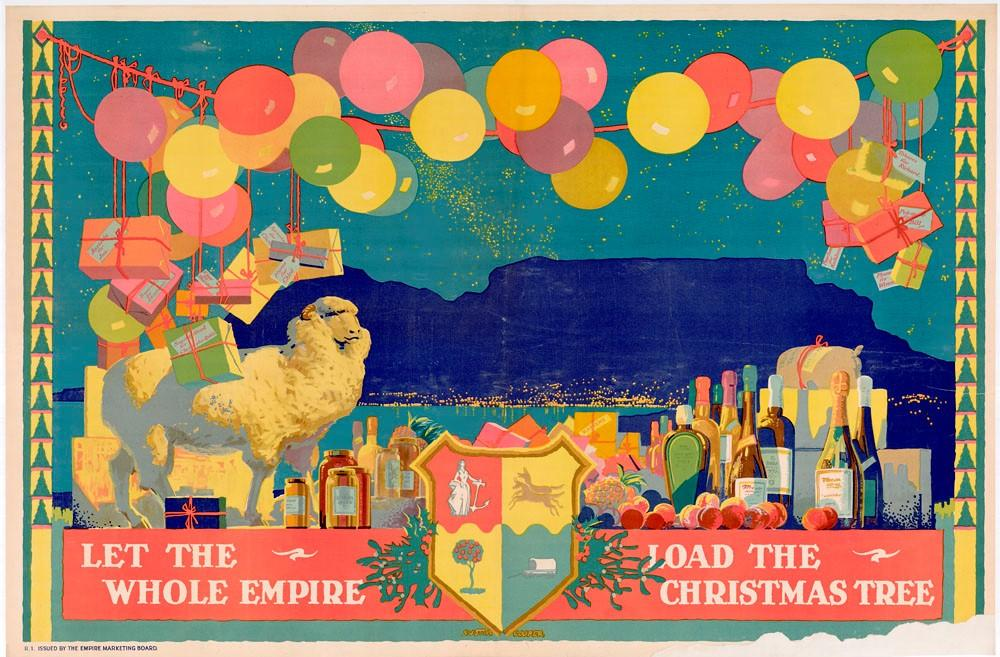 """""""Let The Whole Empire Load The Christmas Tree."""" 1927-1933."""