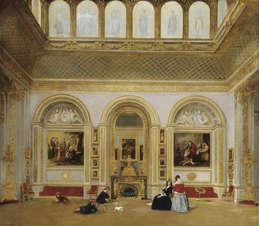 """The Picture Gallery, Stafford House (now Lancaster House), Saint James's, 1848."""