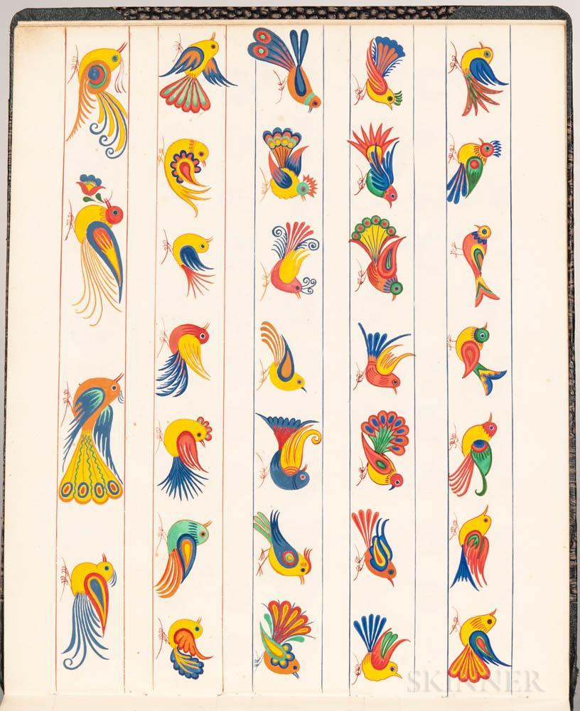 Bird designs.
