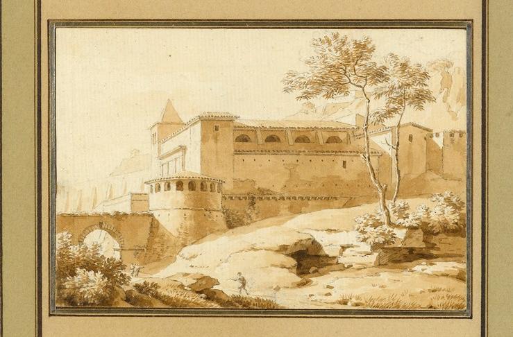 """A Palazzo in the Roman Campagna."""