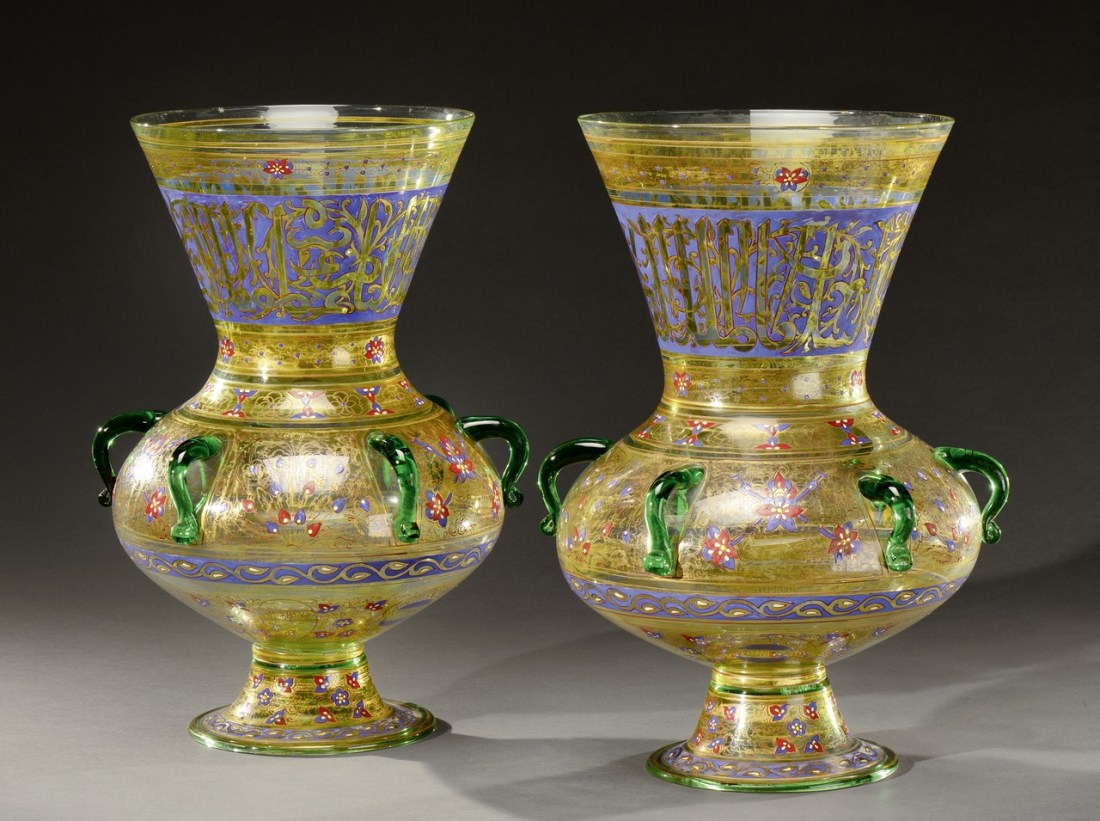 Pair of vases. ca.1880.