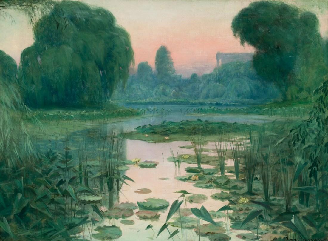 """Untitled (Jackson Park, Chicago)."" circa 1894–1896."
