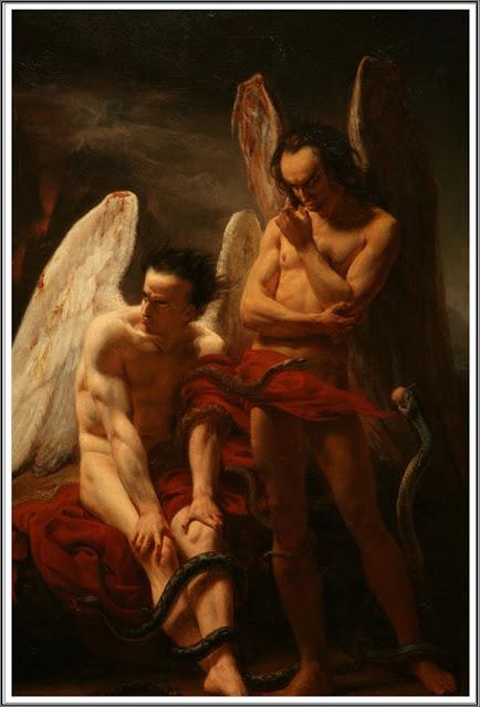 """""""Les Anges Déchus."""" 1833."""