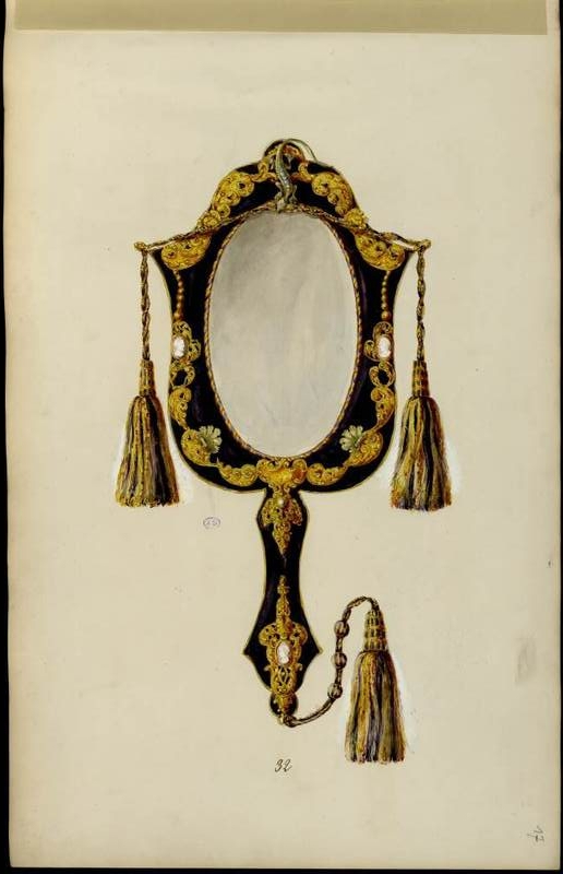 """Miroir à main."""