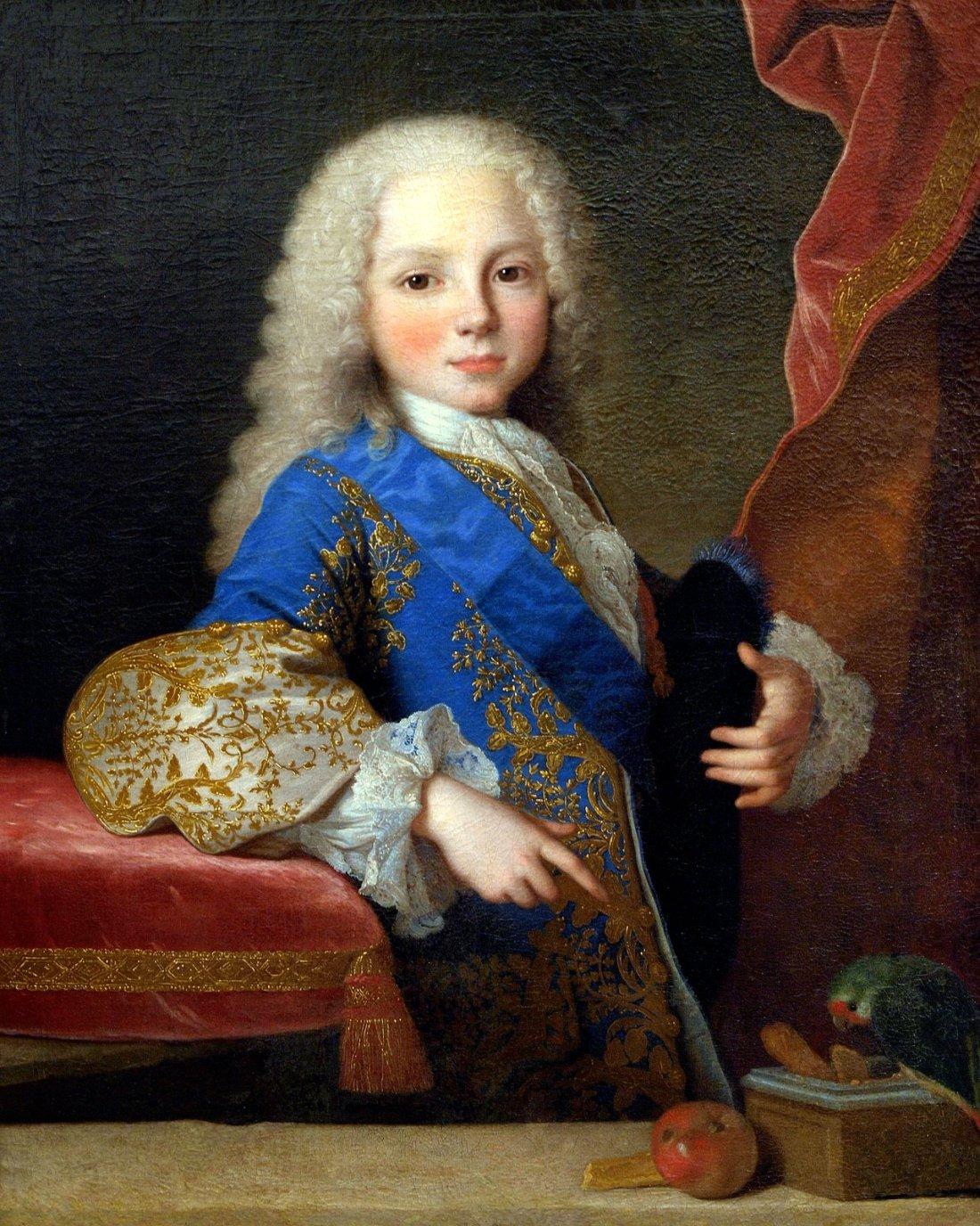 """""""El infante don Felipe de Borbon y Farnesio."""" 1725."""