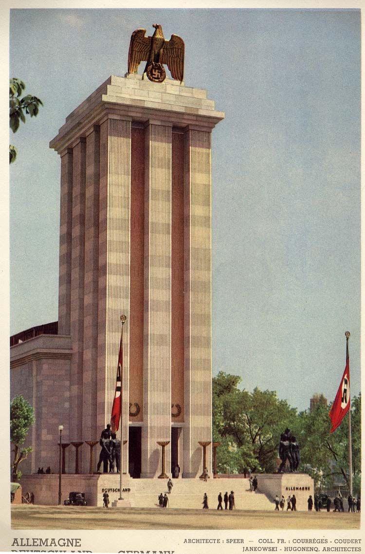 German pavilion. 1937.