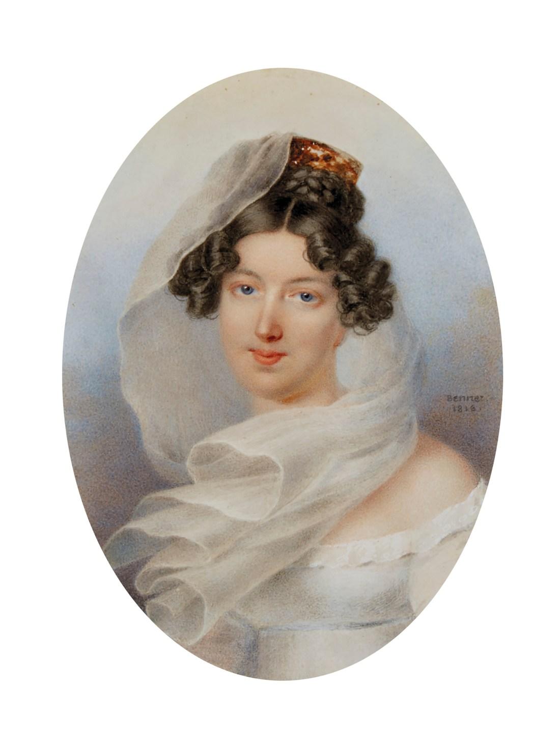 Miniature of Princess Zinaide Wolkonsky