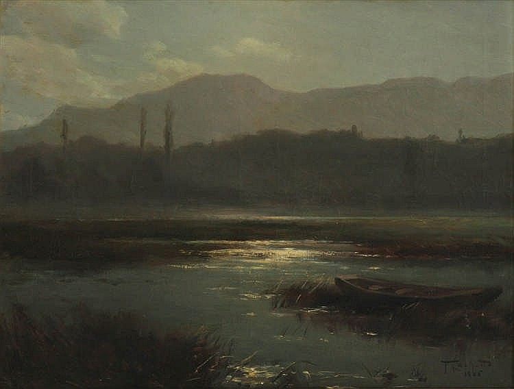 """Aix-les-Bains/les marais."" 1906."