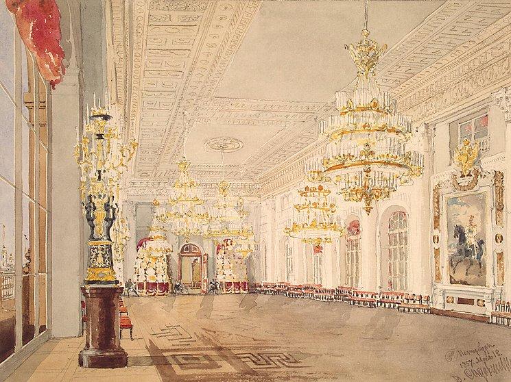Interiors-of-the-Winter-Palace-The-Nicholas-Hall