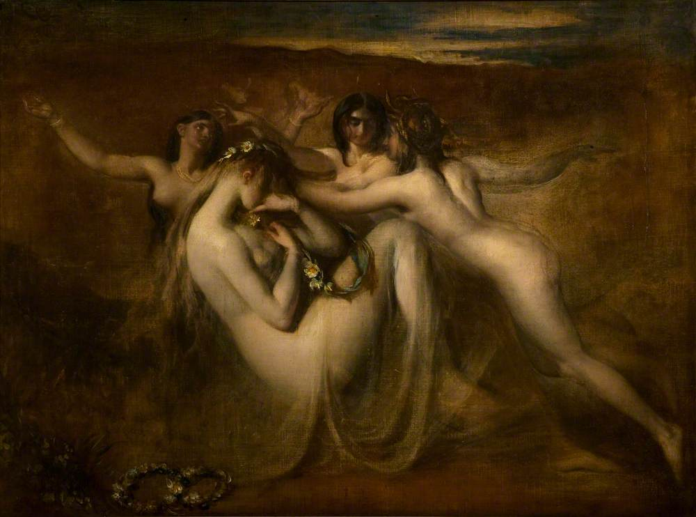 Etty, William, 1787-1849; Sabrina and Her Nymphs