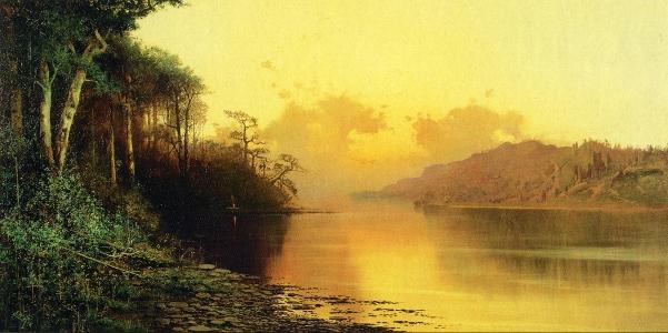 sacramento-river-at-sunset
