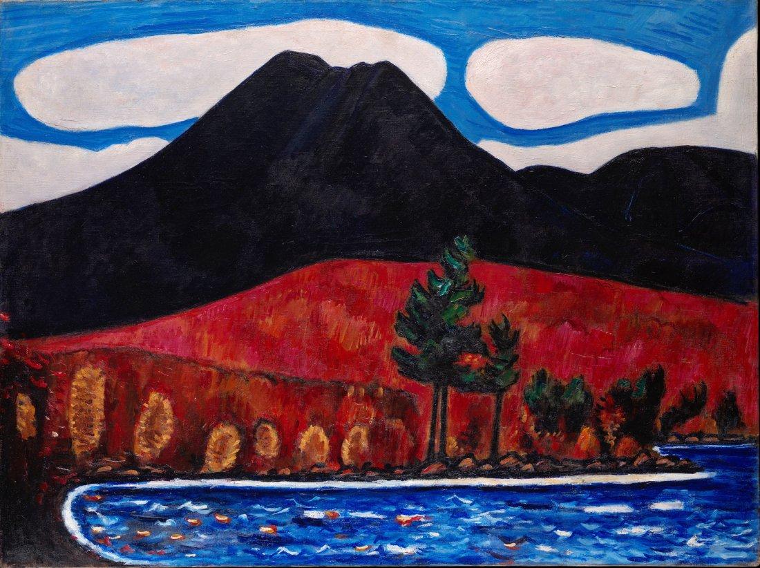 """1""""Mount Katahdin (Maine), Autumn #2."""" 1939."""