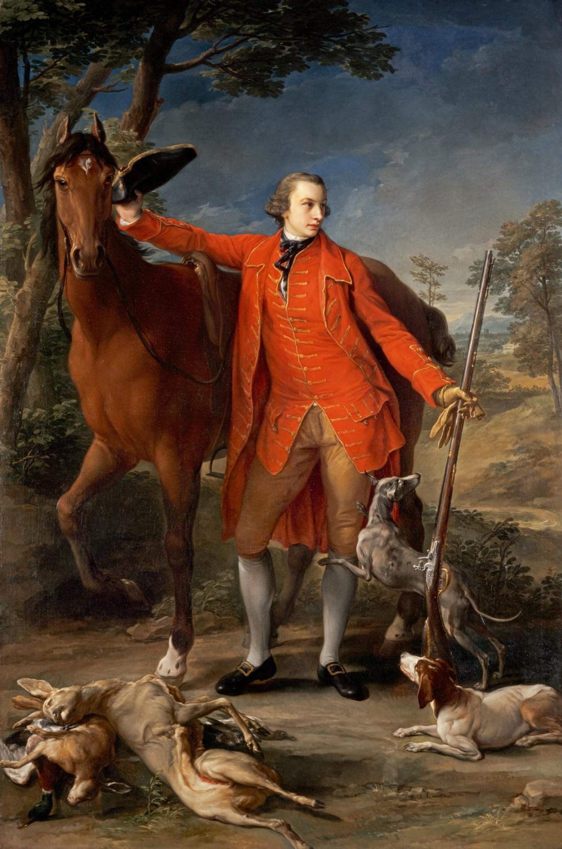 """""""Alexander Gordon, 4th Duke of Gordon"""" (1743 - 1827). 1764."""