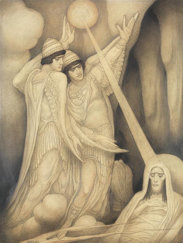 """""""Deux Anges Veillant un prophète."""""""