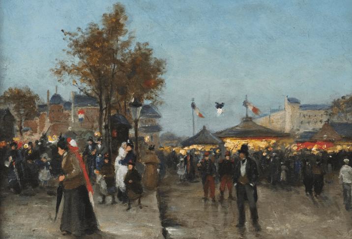 Fair, Paris. No exact date.
