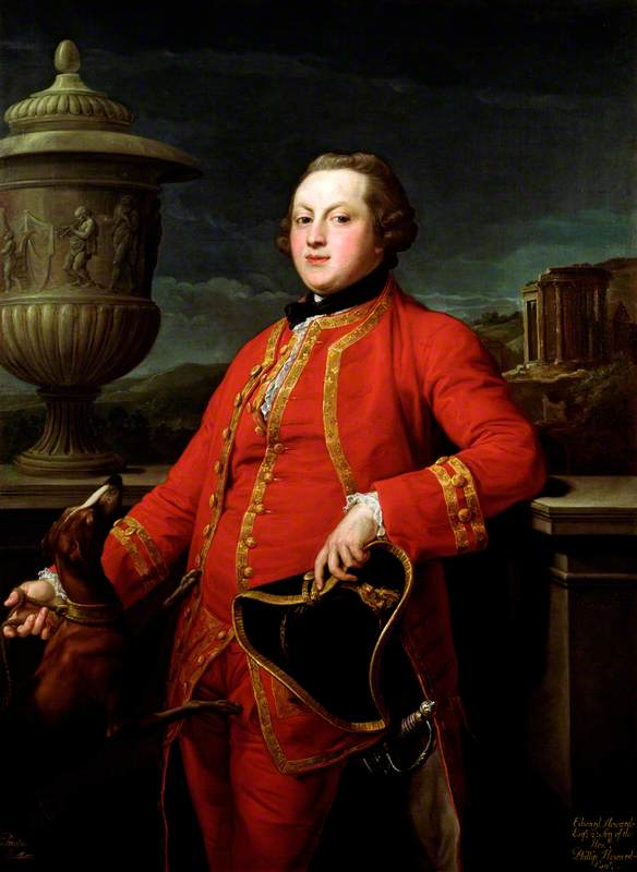 Portrait of Edward Howard (1744–1767).